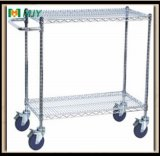 Wire Shelving with Castors Mjy-Wsc13