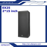 2*15 Inch Professional Loudspeaker Speaker Box for Outdoor (EX25 - TACT)