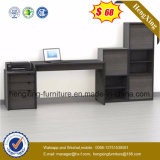 Black Colour Fashion Design with Bookcase Computer Table (HX-0174)
