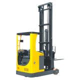 2000 Kg Battery Reach Forklift Narrow Aisle Pallet Lifter
