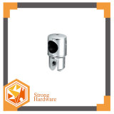 High Quality Glass Door Chromed Connector of Lean Tube