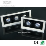 High Quality COB Citizen Downlight LED Grille Light 2*7W