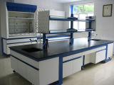 C-Frame Wood Laboratory Furniture with Shelf (JH-WF018)