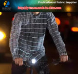 Polyester Yarn Dyed Reflective Ripstop Fabric for Safety Vest (YD1010)