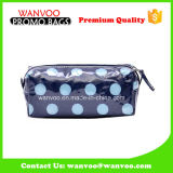 Promotional New Style Stain Blue PVC Cosmetic Bag