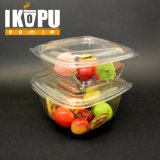 Salad Bowl Vegetable Fruit Salad Pet Plastic Cup with Lid 8oz 12oz 16oz 24oz 32oz