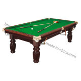 American Snooker Billiard Table Indoor Solidwood Pool Table