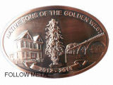 Belt Buckle Casting Zinc Alloy Garment Accessories Antique Copper