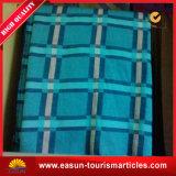 Professional Sublimated Blankets Soft Brushed Airline Blanket Fleece Blanket Plaid