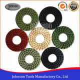 4 Inch Diamond Polishing Pad with Big Hole for Stone