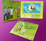 Customized Promotion Gift 10inch LCD Screen Video Greeting Card (VC-100)