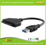 """USB 3.0 to 2.5"""" SATA 22 Pin HDD SSD Adapter Converter"""