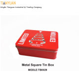 Good Design Mini Metal Square Tin Box