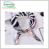 Hot Selling Gift Skinny Stripe Silk Scarf