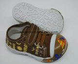 Lateset Fashion Baby Shoes Infant Shoe PVC Sole Shoe (HH17621-2)