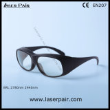 2700-3000nm DI LB3 / Er Laser Safety Glasses /Eye Protection Goggles with Black Frame 33
