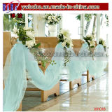 Wedding Decoration Prom Gown Robin′s Egg Blue Tulle 65yd (W1018)