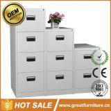 Anti-Tilt Central Locked Knock Down 2/3/4drawer Metal Parts Drawer Cabinet/Steel File Cabinet