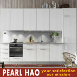 Modern White MDF Melamine Wood Kitchen Cabinet