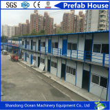 Low Budget Good Quality Modular Building Prefabricated House Prefab House of Light Steel Structure Frame and Sanwich Panels