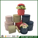 High Quality Round Cardboard Flower Gift Box