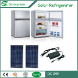 75W Power 39L Freezer Room DC12V Double Doors Solar Refrigerator