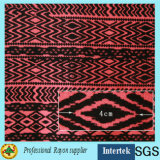2017 Spun Printed Rayon Fabric for Summer Women Clothing
