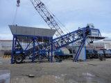 Easy Transport Mobile Concrete Batching Plant Construction Equipment
