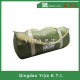 Cylinder Shape Polyester Sports Bag with Adjustable Sholder Strap