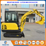 Construction Machinery Mountain Raise 2.2t Mini Digger with Prices