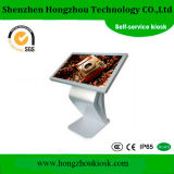 55 Inch Floor Standing LCD Advertising Touch Screen Stands Kiosk
