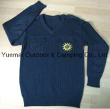High Quality Army Navy Pullover in Wool