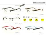 New Model Wholesale Stock Eyewear Eyeglass Optical Metal Frame Sr1512