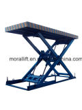 Scissor type hydraulic lifting table for sale