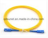 Sc/Upc-Sc/Upc Singlemode Simplex Fiber Optic Patchcord