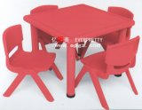 Colorful Children Furniture School Kid Wooden Desk and Chair