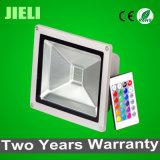 Hot Sale Waterproof IP65 50W RGB LED Flood Lamp Outdoor Lighting