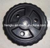 24 Inch Easy Mounted Polyethylene Black Roll in Dock Wheel