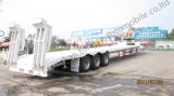Tongya Low Bed Semi Trailer with 3 Axles