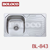 Stainless Steel Kitchen Sink (BL-843)