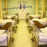 Hospital Vinyl / PVC with Roll /Sheet of Flooring