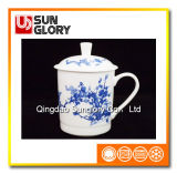 Bone China Cup with Cover of GB016