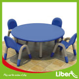 Children Table and Chairs of School Furniture (LE. ZY. 005)