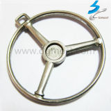 Lost Wax Casting Stainless Steel Steering Wheel in Auto Parts