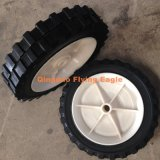 "7 Inch 7""X1.5"" Solid Powder Rubber Wheel"