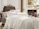Jacquard White Hotel Textile Bedding Set/Check White Comforter Sets