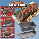 Carbon Steel Perfect Meatloaf Pan Set (TV249)