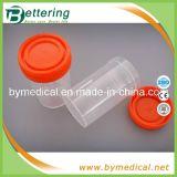 Disposable Plastic Urine Cup Container with Screw Cap