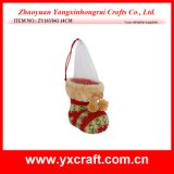 Christmas Decoration (ZY16Y043 14CM) New Design Christmas Box Boot Sale