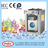 Three Flavor Stainless Steel Tabletop Soft Ice Cream Making Machine